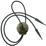 HOWLING WOLF bolo tie